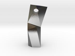 Diviner Obelisk in Polished Silver