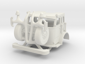 Crown Cab 1/64 in White Natural Versatile Plastic