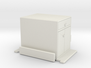 Crown Snorkel cabinet section 1/64 in White Natural Versatile Plastic