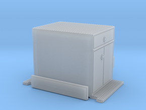 Crown Snorkel cabinet section 1/64 in Smooth Fine Detail Plastic