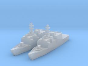 Comandanti class 1/3000 x2 in Smooth Fine Detail Plastic
