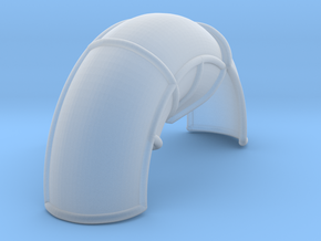10A-Corrected Left Rear Fender in Smooth Fine Detail Plastic