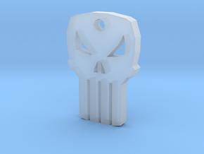 Punisher Keychain in Smooth Fine Detail Plastic