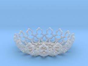 Mandelbrot Ashtray in Smooth Fine Detail Plastic