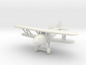 Hawker Fury in White Strong & Flexible: 1:200