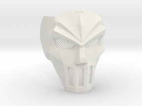 Casey Jones Mask in White Strong & Flexible