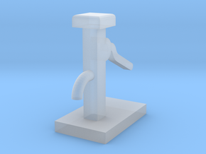 Hand Water Pump - N 160:1 Scale in Smooth Fine Detail Plastic