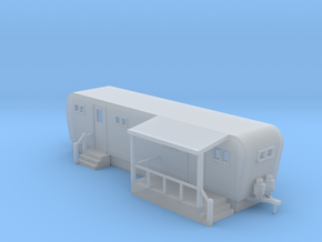 Trailer Mobile Home 30ft - N 160:1 Scale in Frosted Ultra Detail
