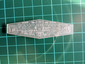 ISD 4222 Bridge Front Fiber in Smooth Fine Detail Plastic