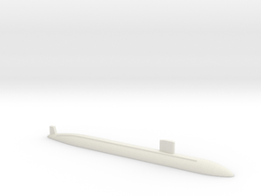 Los Angeles class SSN (688i), 1/1800 in White Strong & Flexible