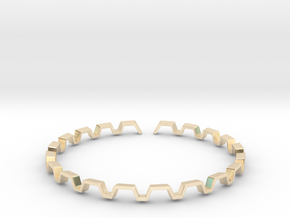 BETTER HALF Bracelet, Medium Size d=65mm in 14K Yellow Gold: Small