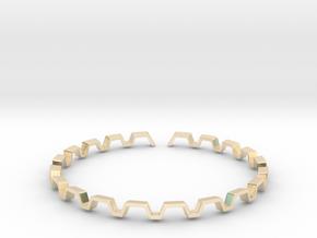 BETTER HALF Bracelet, Medium Size d=65mm in 14K Yellow Gold: Small