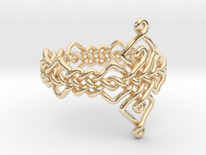Celtic Ring - Size 9 in 14K Yellow Gold