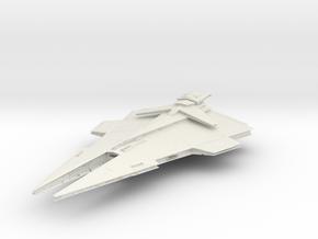 Republic Imperial DestroyerII in White Natural Versatile Plastic