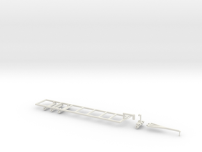 Long trailer frame in White Strong & Flexible