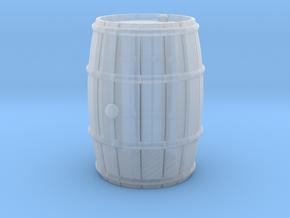 Wooden Barrel Wine Rundlet in Smooth Fine Detail Plastic