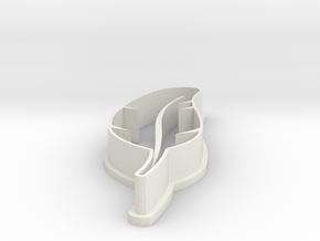 Feather Cookie Cutter bt OCDservicesph in White Natural Versatile Plastic
