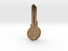 Empire House Key Blank - KW11/97 in Natural Brass