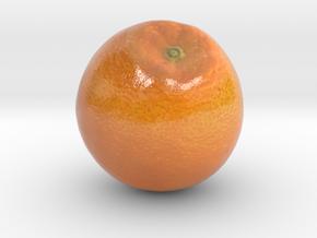 The Orange-2-mini in Coated Full Color Sandstone