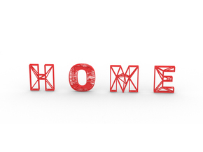Home in Red Strong & Flexible Polished