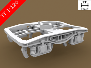 TT Scale Y25 Type Chassis 2pcs (EU) in Frosted Ultra Detail