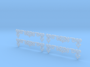 1/35 Gingerbread 3 - Set of 4 in Smooth Fine Detail Plastic