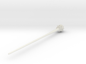 Mermaid Hair Stick in White Natural Versatile Plastic