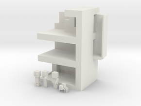 Minecraft Playset in White Strong & Flexible