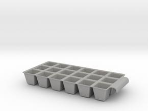 Icetray in Aluminum