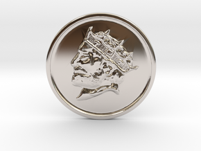 Silver Trenni Coin in Platinum