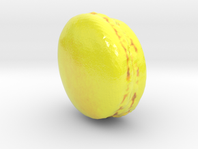 The Yuzu Macaron-mini in Glossy Full Color Sandstone