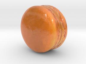 The Mango Macaron-mini in Coated Full Color Sandstone