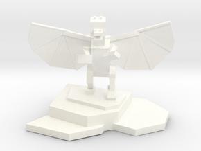 Ender Dragon Statue in White Processed Versatile Plastic