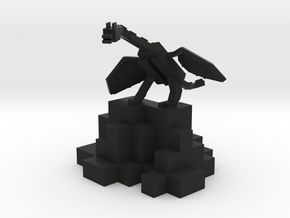 MCDragon #iDTech3DContest #3DMiddle in Black Natural Versatile Plastic