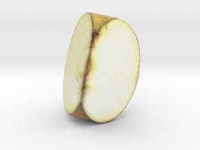 The Apple-3-Quarter-mini in Glossy Full Color Sandstone