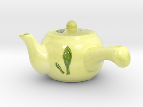 The Asian Teapot in Glossy Full Color Sandstone