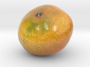 The Tangerine-mini in Glossy Full Color Sandstone
