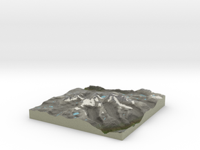 Terrafab generated model Thu Mar 31 2016 21:00:38  in Full Color Sandstone