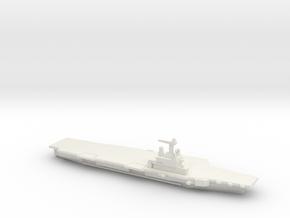 FS Charles de Gaulle (R91), 1/2400 in White Natural Versatile Plastic