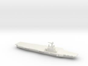 FS Charles de Gaulle (R91), 1/3000 in White Natural Versatile Plastic