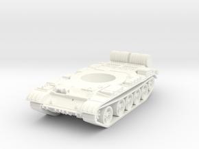 1/56 Scale T-55-3 in White Processed Versatile Plastic