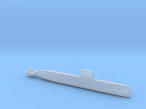 USS Nautilus (SSN-571), Full Hull, 1/1800 in Smooth Fine Detail Plastic
