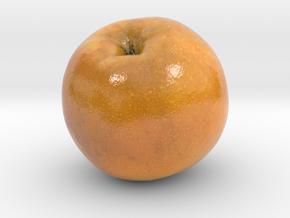 The Pear-3-mini in Glossy Full Color Sandstone