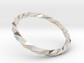 Twistium - Bracelet P=160mm Color in Platinum