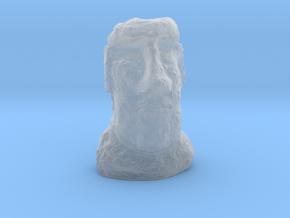 TT Gauge Moai Head (Easter Island head) in Smooth Fine Detail Plastic