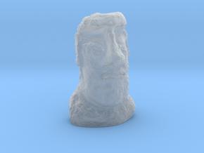 HO Gauge Moai Head (Easter Island head) in Smooth Fine Detail Plastic