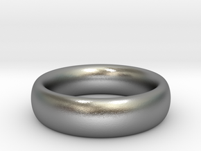 Plain Ring v1 Size11-7mm-3.2 in Natural Silver