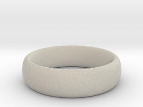 Plain Ring v1 Size11-7mm-3.2 in Natural Sandstone