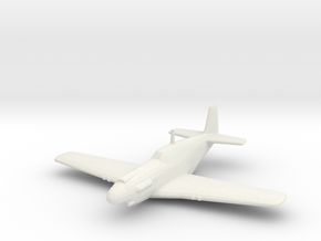 North American A-36 'Apache' in White Strong & Flexible: 1:200