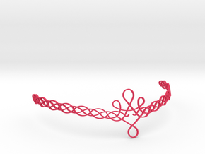 Woven Circlet in Pink Strong & Flexible Polished